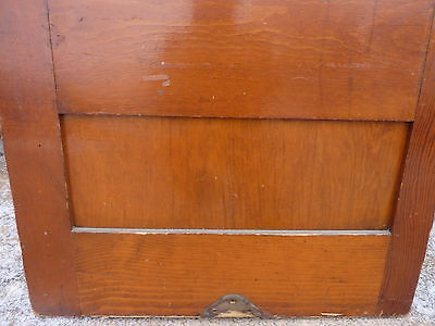 "early 20th century schoolhouse SLATE chalkboard salvaged DOOR & FRAME 65 x 30.5"" 11"