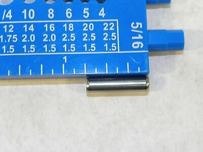 """(10-100) 18-8 S.S. Slotted Roll Spring Pin 3/16"""" Dia x 3/4"""" L STAINLESS USA NH 3"""