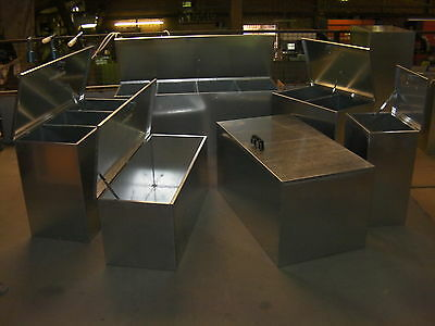 Horse Feed Bin XXL Single Compartment Food Storage Galvanised Steel s4c