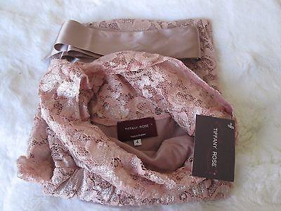 New Tiffany Rose Chloe Lace Dress Short Size Uk 4 14 16