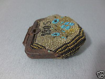 Antique Year 1905 Glass beads Coins PURSE Karakachans-Greece Macedonian RARE 3