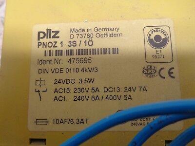 PILZ Sicherheitsrelais PNOZ 1 24VDC 3S 1Ö 475695