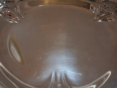 "Vtg Antique Royal Danish Int'l Sterling Silver Clover Leaf Pierced Tray 11"" 748g 11"