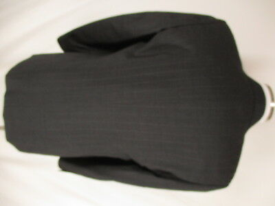 Pal Zileri Mens Charcoal Stripe 2 Btn Cerruti 1881 S120s Suit 42R Italy Made 2