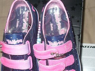 "Skechers Girl's Twinkle Toes Limited Edition Sz1.5 NWB. 10959L/DNPK 9"" IN LENGTH 7"