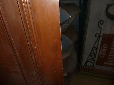 """c1902 antique MAHOGANY door BEAUX ARTS mansion 81.5 x 24 x 1.75"""" original FINISH 6"""