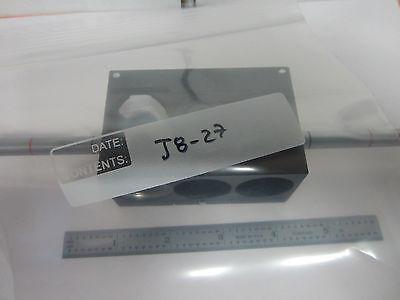 Microscope Pièce Leitz Leica Polyvar Dic Slide 500281 Optiques Tel Quel Bin 6