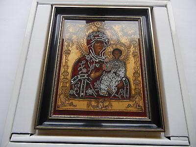 Heinrich talla Icono del año 1992 Madre de dios Smolenskaja Nº 508 Revisited 2