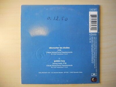 Eddy Mitchell : Decrocher Les Etoiles [ Cd Single Promo ] 2