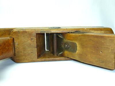 Antiguo cepillo de carpintero SUIZA / ITALIA / sur de Alemania 19 Siglo b-0385