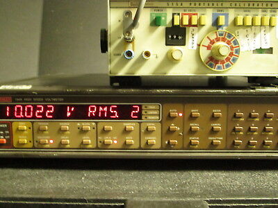 Keithley 194A Dual Channel Voltmeter RMS AVG Math 32K buffer High speed 6