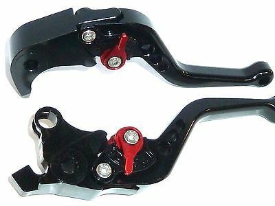 SUZUKI GSXR1000 2007 2008 BLACK  BRAKE AND CLUTCH LEVERS  RACE TRACK K7 K8 TS23
