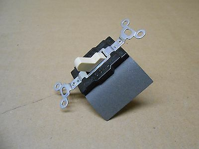Nib Pass & Seymour 1221-I Manual Controller 15A 120/277Vac 1Pole Ivory(3 Avail) 3