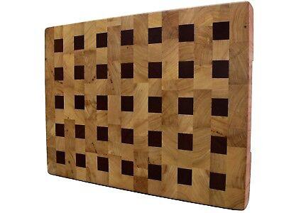 Cutting Board End Grain with Feet, Wooden, Handmade, Butcher Block, Cheese Board 2