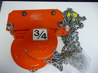 CM Cyclone 646 Series 3/4 Ton Chain Hand Hoist & Low Headroom Trolley Hoist 646G