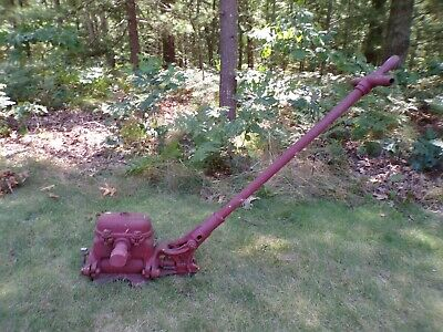 Rare F. E. Myers Cast Iron Antique Standing Hand Water Well Pump 12