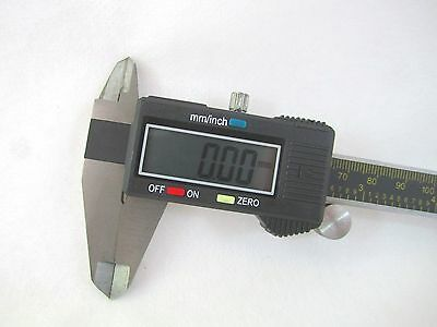 Digital Caliper 8 Inch Stainless Steel Measures Inch/MM w/ Case and Battery #172 3