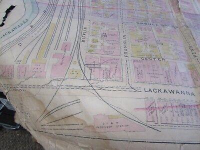 City Of Scranton - 1898 Downtown Map - Ward 8,17,9 - I.c.s, Scranton H.s. (#1) 6