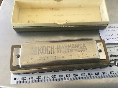 Koch Harmonica In Original Box 4