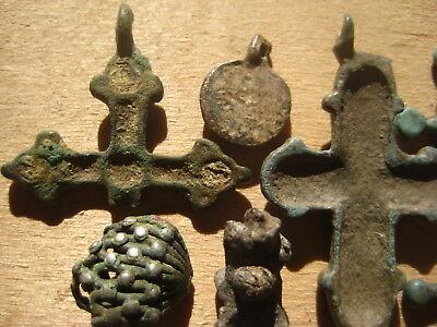 ANCIENT CROSS Viking Kievan Rus 10-12 century AD 9
