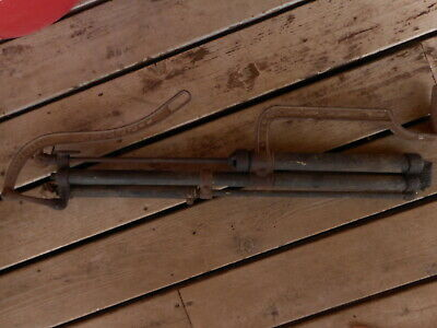 Vintage Antique The F.E. Myers & Bros Hand Pump Rare Cast Barn Fresh non working 8
