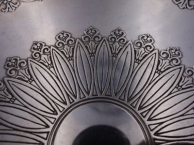 Tiffany and Co Sterling Silver Sandwich Tray Art Deco Acid Etched Design (#3152) 4