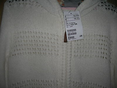 Hooded Cardigan for Girl 6-8 years H&M 2