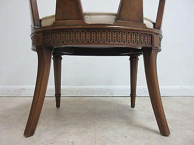 Vintage Italian Regency Fireside Side Lounge Living Room Side Chair B 10