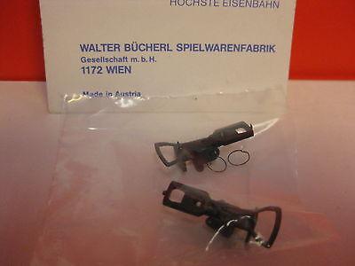 LILIPUT # 541 H0 Kupplung Bügelkupplung mit Feder/Ringfeder 2 Stück 2