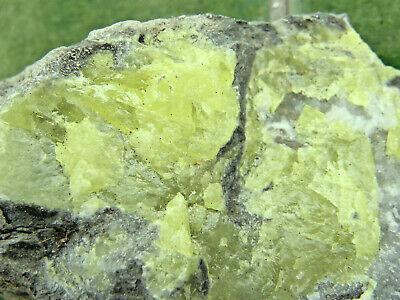 "Minerales "" Fantasticos Cristales De Azufre Nativo De Laredo(Cantabria) - 6A13 "" 2"