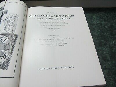 Britten's Old Clocks and Watches and Their Makers 7th Edition by Baillie, Clutto 6