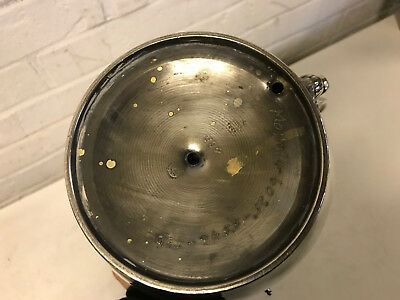 Antique Middletown Plate Co. Aesthetic Movement Silver Plated Tilt Water Pitcher 11