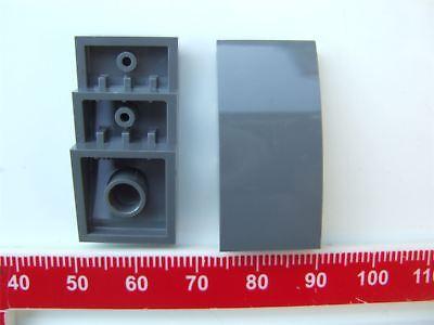 2 x Lego Grey Brick with bow 2x4-4622742 Parts /& Pieces