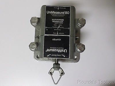 Used UniMeasure/80 Multipurpose Force and Pressure Transducer With Adapter