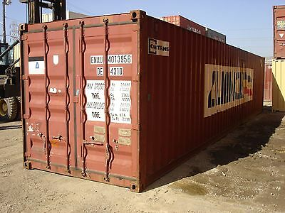 Used 40' High Cube Steel Storage Container Shipping Cargo Conex Seabox Dallas 2