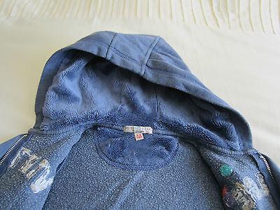 M&S Indigo Collection Girls Hoodie, Size: 5-6yrs 5