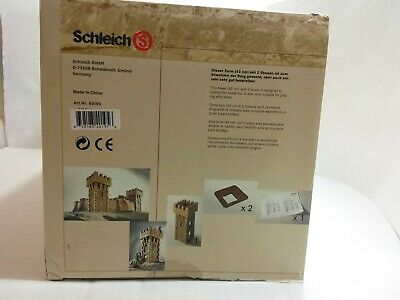 SCHLEICH RETIRED CASTLE TOWER #40195 *NEW*