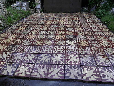 tiles victorian ceramic sand feignies perusson boch metlach boulenger 1900 11