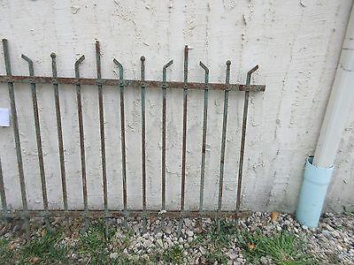 Antique Victorian Iron Gate Window Garden Fence Architectural Salvage #884 3
