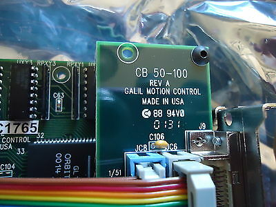 New Camalot Motion Control Card/Pcb Cb50-100 Rev. A Galil Motion Control 4