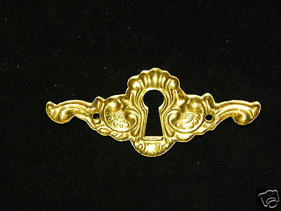 Keyhole Cover Brass 5