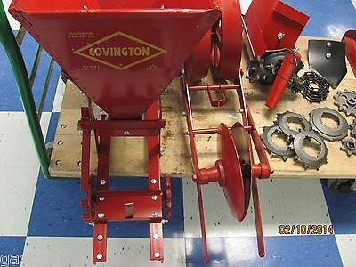 1 Row Covington Platner-1 Row Planter With Fertilizer Box- Mount On Your Cult.