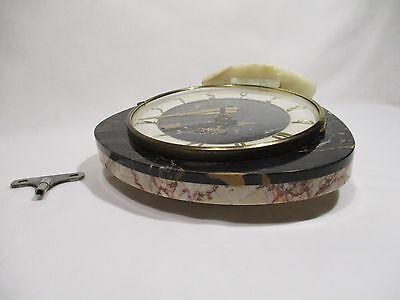 Antique Pendulum Clock Mecanique Bayard Vintage Clock Pendulum Orologio 6