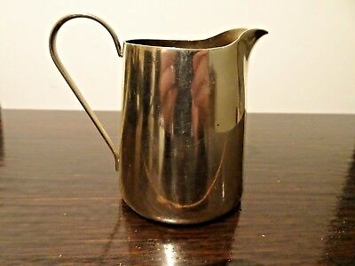Antique EPNS Silver Plate Stylish Cream Jug BSC Barbour Silver Co America 1890's 2