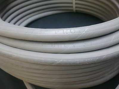 """150 ft 3//8/"""" Gray Non-Marking 6000 psi Pressure Washer Hose HOT WATER STEAM 150/'"""