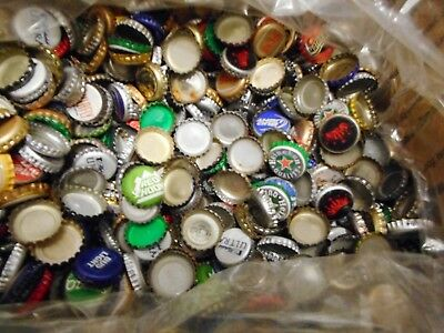 Lot Of 1500  Assorted   Beer Caps 7 1/2 Lbs  Mixed Micro And Major Breweries 4