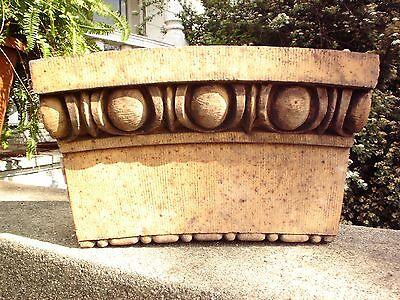 2 Terra Cotta Stones. Old Chicago Saint Boniface School. Architectural Salvage. 6