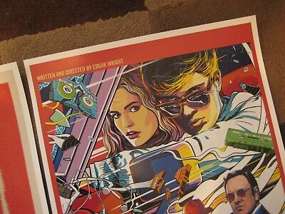 """Baby Driver  (11"""" x 17"""") Movie Collector's Poster Prints (Set of 3) 9"""