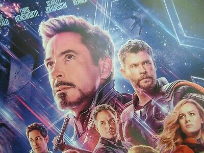 """Avengers -  Endgame ( 11"""" x 17"""" ) Movie Collector's Poster Print ( T2 )- B2G1F 9"""