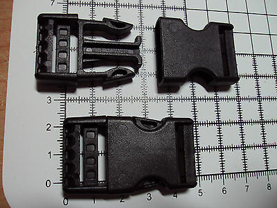 """10pcs. Plastic Side Release Buckles For Webbing 20mm Bags Straps Clips  """"B"""" 4"""